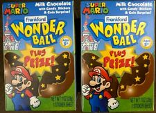 Brand New Frankford Wonder Ball Super Mario with Candy Stickers and Mystery Coin