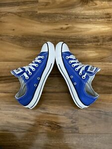 Converse All Star Blue Size UK 5.5