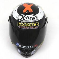 More details for x-lite crash helmet moto gp rider jorge lorenzo 2012 1:5 scale die-cast replica