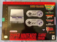 Nintendo Super NES Classic Edition Console SNES Mini Brand New With Receipt Mint