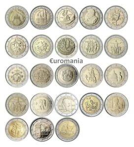 Vatican 2 Euro - Toutes Commémoratives Monnaies 2004 à 2020 Disponibles