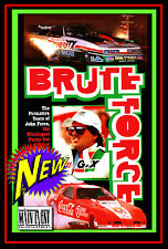 Drag Racing John Force Saga BRUTE FORCE, 1980's, A MAIN EVENT ENTERTAINMENT DVD