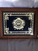COLLECTIBLE VINTAGE HENRY WEINHARD'S PRIVATE RESERVE MIRROR BEER