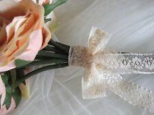 Exclusive English Nottingham Cotton Cluny Lace Vintage style- Ecru FC231 Bridal,