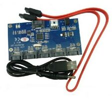SATA 2.0 Port Multiplier Card / 1 To 5 Port SATA Card / SATAII Riser card
