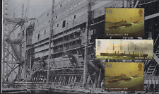 2006 GB QE2 ROYAL MAIL DX36 PRESTIGE BOOKLET PANE ISAMBARD KINGDOM BRUNEL 2610A