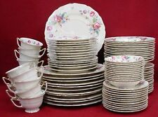 THOMAS china ROSEMONT pattern 90+ piece SET SERVICE foir 12 +/-