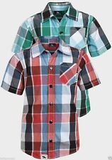 Short Sleeve Checked Shirts (2-16 Years) for Boys