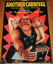 1991 Another Carnival Enjoy The Ride Arm Wrestling 36x24 Poster
