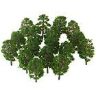 BESPORTBLE 20pcs Artificial Trees Architectural Micro 9CM Imitation Landscape