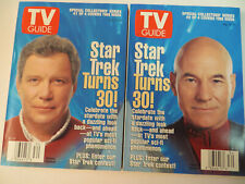 New ListingStar Trek Tv Guides - Lot Of 4 - Captains Series ! - 1996