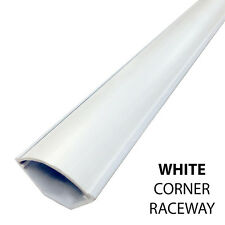 PVC Corner Duct Surface Cable Cord Wire Raceways - White, Beige, Black, Taupe