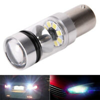 100W 1156 S25 P21W BA15S Aluminum LED Backup Light Car Reverse Bulb Lamp Gp