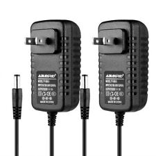 2 Pack 12V 2A 12 Volt DC 2 Amp Surveillance Camera Power Supply For Swann