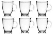 6 Kaffeebecher Glas 400ml Glühweinbecher Teetasse Teebecher