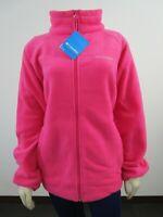 Womens Columbia Sawyer Rapids 2.0 FZ Soft Fleece Jacket NWT XS-3X - Pink