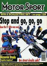 Motor Sport (Nov 1995) Fiat Coupe 16v Turbo, Porsche 904, Eddie Jordan, Dino 246