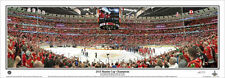 Chicago Blackhawks STANLEY CUP 2015 United Center Panoramic Poster Print