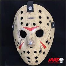 Deluxe Jason Voorhees Masque de hockey partie 3 FRIDAY 13th Film d'horreur de collection