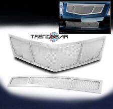 2010 2011 2012 CADILLAC SRX MAIN UPPER+BUMPER LOWER MESH GRILLE GRILL COMBO 2PCS