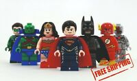 Lego DC Minifigures Marvel Justice League Heroes Batman Joker Aquaman Flash Lobo