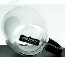2 Elev8 Strong Clear Glass Double Wall Coffee Mug Tea Espresso Free Shipping