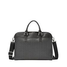 Fossil Mercer Top Zip Workbag  Charcoal MBG9215010