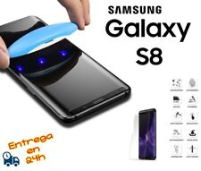 Glass Glass Tempered 3D Protector Transparent uv Gel for Samsung S8