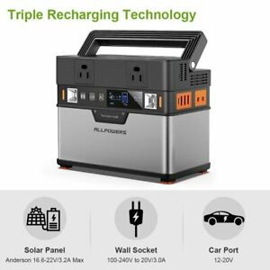 Portable Power Station 288Wh/78000mAh Portable Generator with DC/AC Inverter US