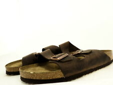 Birkenstock Men's Arizona BS Soft Footbed Sandal, Habana Leather, 46 EU (US: 13)