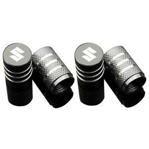 4pcs For Suzuki Car Logo Wheel Tire Valve Stems Caps Air Valve Cover Accessories