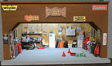 New 1:18 Diorama Garage Lighted Diecast Parts Unique WT Add Your Car Very Cool