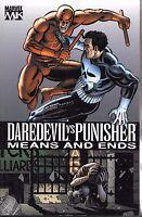 Daredevil vs Punisher: Means & Ends by David Lapham 2006 TPB Marvel 1st  OOP