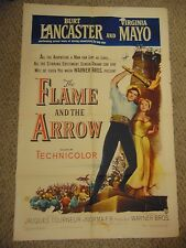 "Burt Lancaster Virginia Mayo The Flame And The Arrow 27x41"" Poster #L9532"