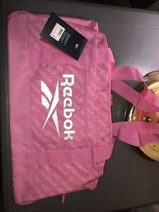 Reebok Garnet Pink Duffle Bag