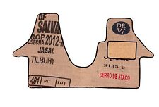 VW Transporter T5 Cab mat in coffee sack