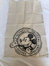 Disney Parks Mickey Mouse Linen Kitchen Towel