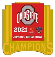 2021 OHIO STATE BUCKEYES CFP CHAMPIONS ? SUGAR BOWL GAME PIN COLLEGE TITLE GAME