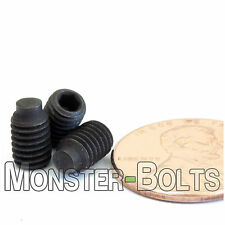 """#10-32 x 5/16"""" - Qty 10 - Half Dog Point Socket SET / GRUB SCREWS - Alloy Steel"""