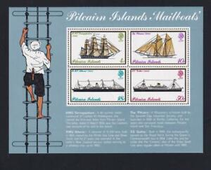 Pitcairn Island 1975 Mailboats, MNH S/S, sc#150a