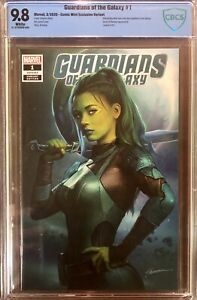 GUARDIANS OF THE GALAXY #1 Maer Trade Exclusive - CBCS 9.8