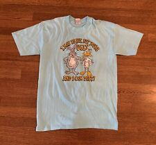 Vintage I May Be Fat But You're Ugly And I Can Diet T Shirt Churchill XL Funny