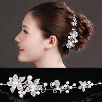 Acconciatura capelli tiara strass perle accessorio fermacapelli sposa matrimonio