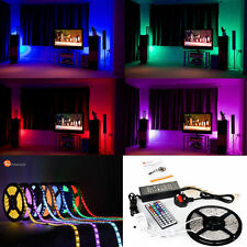 LED Tape Strip Light Complete Kit 5-100 m Change Colour Brightness Control Rope