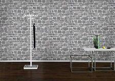 Rasch Tapete Auswahl 265620 grau weiß Steine -