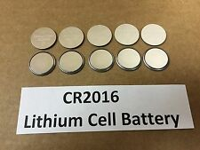 Set of 10: New Lithium CR2016 3V Keyless Entry Remote Coin Battery FREE TRACKING