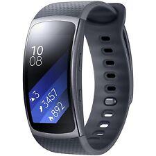 Samsung Gear Fit 2 Reloj inteligente con seguimiento para ejercicio SM-R360 Banda deportiva GPS-Grande