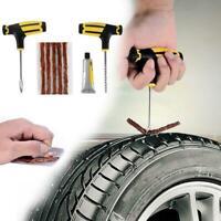 Car Tubeless Tire Reifenpannenset Reparatursatz Nadel Tool Patches Erst B8H D3R2