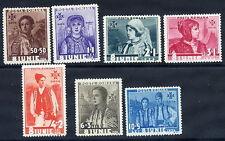 ROMANIA 1936 6th Anniversary of Accession set  MNH / **