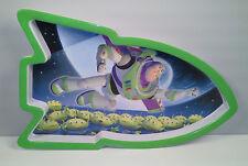 """10"""" Buzz Lightyear Melamine Kids Rocket Plate Disney Toy Story by Zak Designs"""